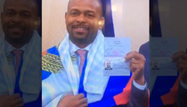 Roy Jones Jr. -- Gets Russian Passport ... Thanks Putin (VIDEO)