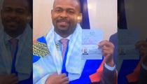 Roy Jones Jr. -- Gets Russian Passport ... Thanks Putin (VIDEO)