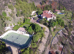 Robbie Williams' New Beverly Hills Mansion