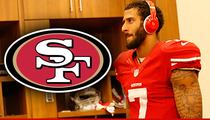 Colin Kaepernick -- Headphones Pissing Off Teammates