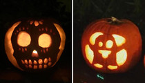 Celebrity Jack-O-Lanterns -- Guess Whose Grisly Gourds!