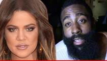 Khloe Kardashian Leaves Odom's Bedside ... To Support James Harden
