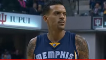 Matt Barnes Taunted with 'Derek Fisher' Chant