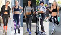 10 Sexy Stars in Spandex ... Thank the Lord For Lycra!
