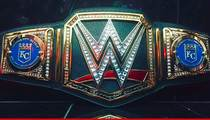 WWE -- Sends Championship Belt ... to KC Royals