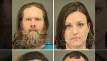 Carolina Panthers -- Stadium Invaders Revealed ... Mug Shots & Charges All Around!