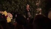 Christina Aguilera -- Hillary Clinton Party At My House! Bring Your Credit Card