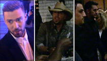CMAs ... Justin, Jason and Luke Hit the Town