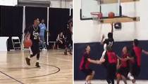 Marlon Wayans' Son -- BALLIN' OUT ... Terrorizing Hoops League (Video)