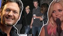 Blake Shelton and Gwen Stefani -- Here We Are, Nashville! (TMZ on TV)
