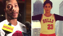 Derrick Rose -- Launches 'Shark Tank' Star ... Yeah, I'll Rock Your Shirt