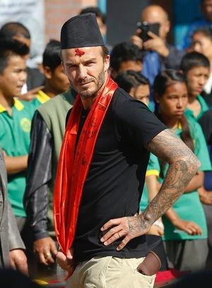 David Beckham's Nepal Trip