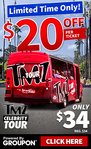 'TMZ TOUR - HOLLYWOOD' from the web at 'http://ll-media.tmz.com/2015/11/06/tmzhtls-300x492-groupon-approved-2.jpg'
