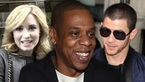 Jay Z -- The Wiz Behind Demi Lovato, Nick Jonas