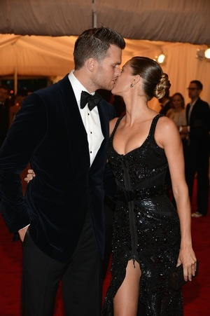 Gisele Bunchen & Tom Brady -- Together Photos