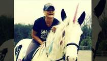 Miranda Lambert -- Birthday Unicorn Makes Everything Better! (PHOTO)