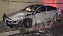 Blac Chyna Car Crash Accident Scene Photos