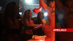 Rihanna Makes It RAIN on Miami Stripper -- Throw It Up, Throw It Up!