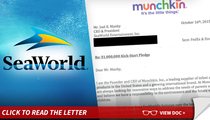 SeaWorld -- Toy Co. Pledges $1 Million to Free 'Blackfish' Star Tilikum