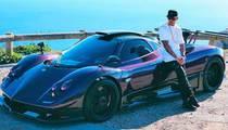 Lewis Hamilton Crashes $2 MILLION CAR ... Blames 'Heavy Partying'