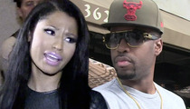 Nicki Minaj -- Fabulous Parting Gift from Safaree ... A Lawsuit!