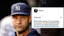 50 Cent -- Blasts Derek Jeter ... 'Guess I'm Not a Yankees Fan Anymore'