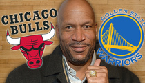 Ron Harper -- '96 Bulls Would BEAT '15 Warriors ... Period.