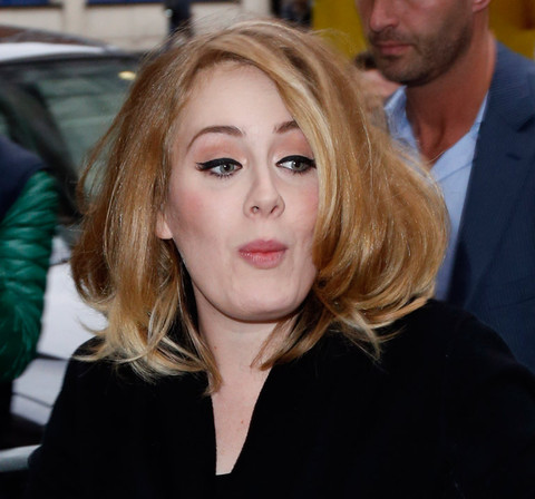 Adele's Resting Pitch Face   Photo 14