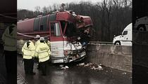 Hinder -- 3 Injured in Bus Crash, Dog Saved