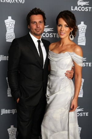 Kate Beckinsale & Len Wiseman -- Together Photos