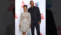 Jada Pinkett Smith Gets No Support at Latin Grammys ... Will Smith Loves It (PHOTO)