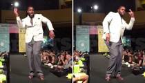 Redskins Star Chris Baker -- Rippin' The Runway Again ... For Charity