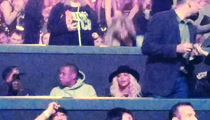 Jay Z and Beyonce -- The Queens Collide At Britney Spears' Show