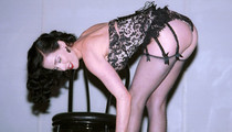 Dita Von Teese in Black Lace -- Happy Black Friday!