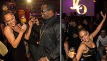 J Lo and Diddy -- Still Sweet for Each Other at AMA After-Party