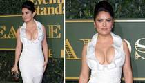 Salma Hayek -- Forget the AMAs ... She Wins the Golden Globes!!! (PHOTO)