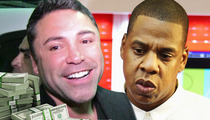 Jay Z -- Pays $100k Bet ... After Losing to De La Hoya