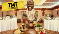 Floyd Mayweather -- My Thanksgiving Weigh In ...100lbs of Turkey!!!