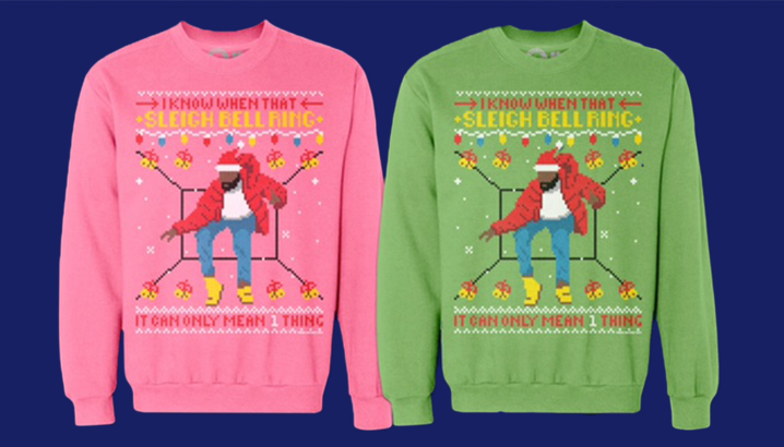 hotline bling christmas sweaters made 20k in 2 hours kanye west forum