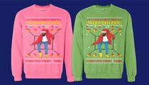 Drake -- 'Hotline Bling' Xmas Sweaters Selling Like Holiday Hotcakes