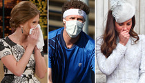 'Tis The Season ... For The Flu -- See The Sick Looking Stars