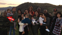 Kardashian Family Photo -- Mystery Guy Identified ... I'm with Kanye!