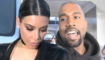 Kim Kardashian & Kanye West -- Baby Crisis ... We Need a Name!!