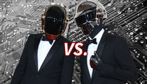 Daft Punk Robots: Who'd You Rather?! (Cyber Monday Edition)