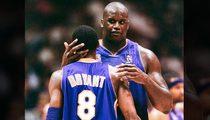 Shaq -- Congratulates Kobe ... 'Love U Lil Bro'