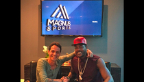 Marc Anthony -- I'M THE NEW JAY Z ... Starts Sports Agency
