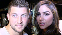 Tim Tebow and Olivia Culpo -- Sex Never an Issue ... 'Cause We NEVER Dated