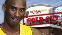 Philadelphia 76ers -- 'Expecting a Sellout' ... For Kobe's Final Homecoming