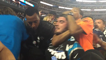 Cowboys Stadium Security -- Cops Investigating Choke Video ... Possible Assault (VIDEO)