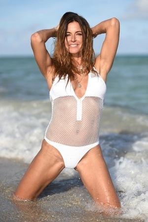 Kelly Bensimon -- Bikini Beach Babe!